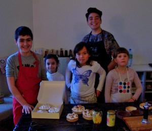 Les jeunes experts de l'atelier tartes en images….